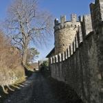 Castelcorniglio mura di cinta