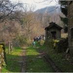 Il villaggio medievale di Sbuttoni in Val Noveglia. Foto Cesare Pozzoli