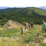 Salendo al Colle Castellaccio (gruppo del Lama)