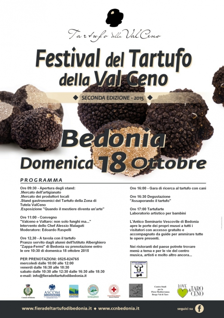Programma del Festival del Tartufo