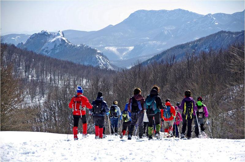 Panorama dal monte Bue