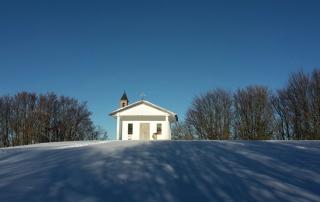 Chiesa M.Dosso innevato