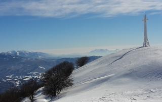 Vista su parco nazionale dal M.Pelpi