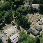 Veleia (Velleja) Romana dall'alto