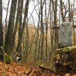 Il Bosco degli artisti scultura in pietra