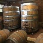 Botti per la lavorazione del vino