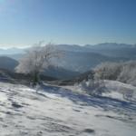 Guardando verso il Crinale dell'alta Valceno