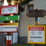 Tabelle sentieri a Monastero di Gravago