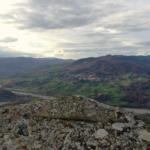 Bardi e la Val Ceno dal Pizzo d'Oca