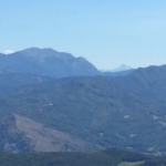 Marmagna ed Apune viste dalla cima del Barigazzo