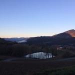 Lago di Varsi lungo il sentiero