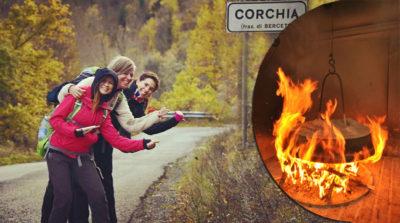 In marcia verso la pizza di Corchia!