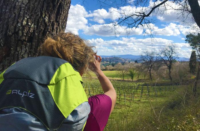 Trekking con vista panoramica