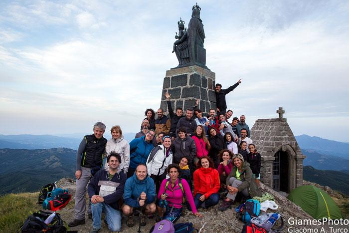 Tramonto dalla vetta del Monte Penna - foto di Giacomo Turco